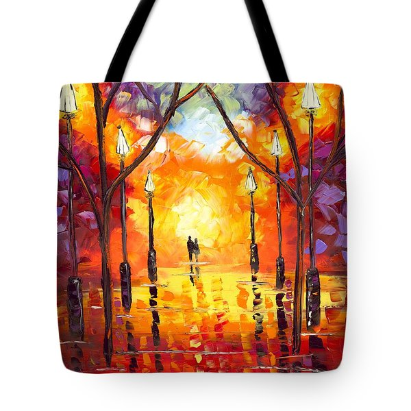 Tote Bag Featuring The Painting Endless Love By Jessilyn Park