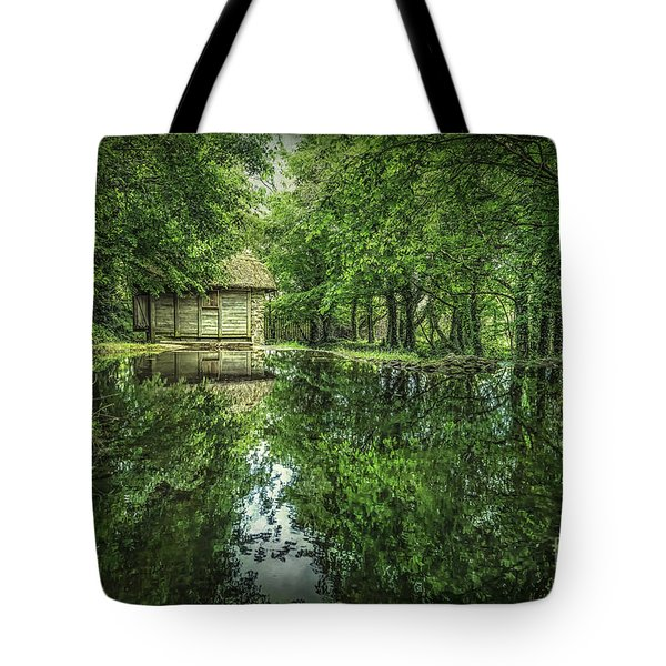 Endless Shades Of Green Tote Bag
