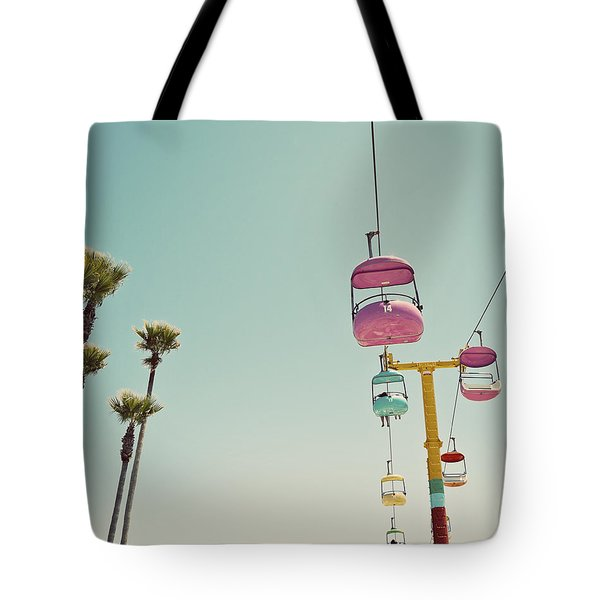 Endless Summer - Santa Cruz, California Tote Bag