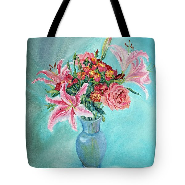 Enduring Love Bouquet Tote Bag