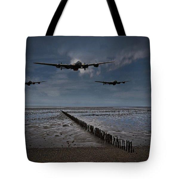 Enemy Coast Ahead Skipper Tote Bag
