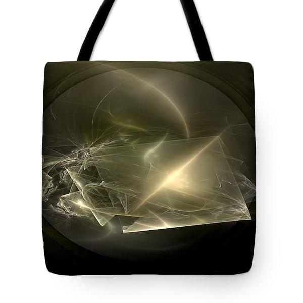 Energy Breaks Tote Bag by Peter R Nicholls