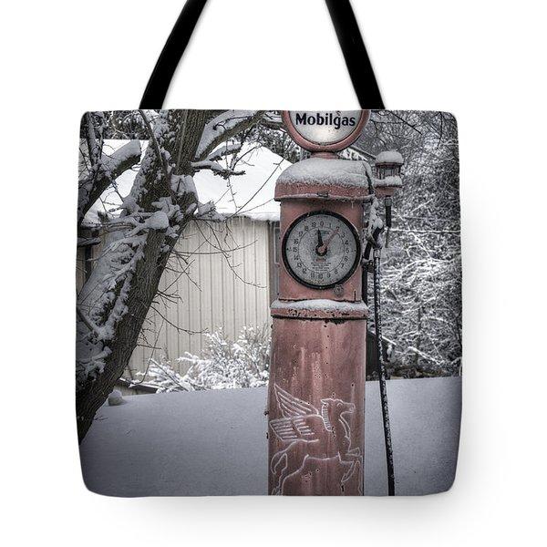 Energy Shortage Tote Bag by Joan Carroll