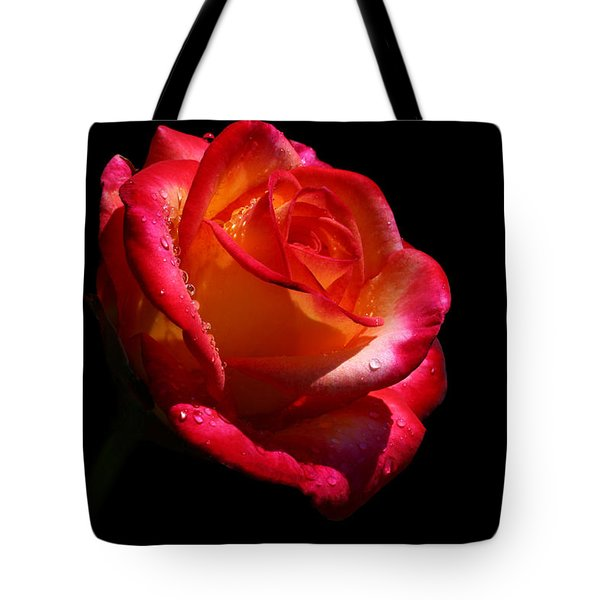 Tote Bag featuring the photograph Enflamed by Doug Norkum