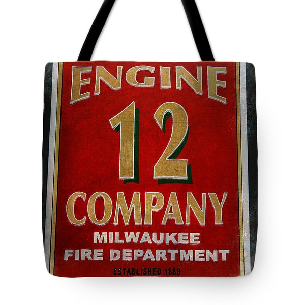 Engine 12 Tote Bag