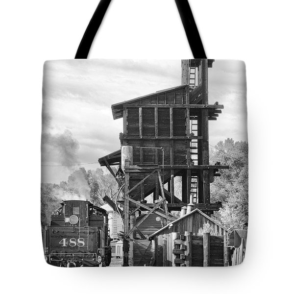 Engine 488 At The Tipple Tote Bag