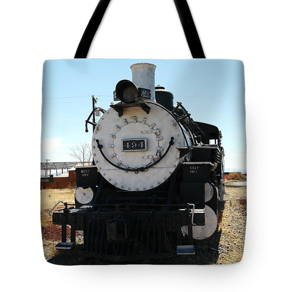 Engine 494  Tote Bag by Jeff Swan