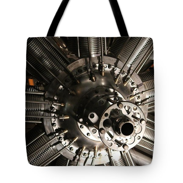 Engine Tote Bag by Cynthia Snyder