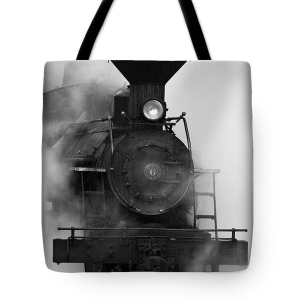 Tote Bag featuring the photograph Engine No. 6 by Jerry Fornarotto