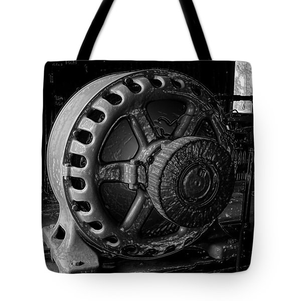 Engine Of A Mad Scientist Tote Bag by David Lee Thompson