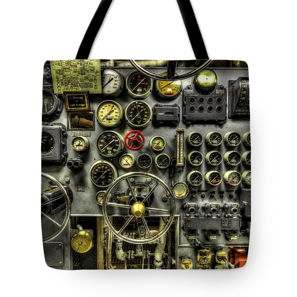 Engine Room Tote Bag
