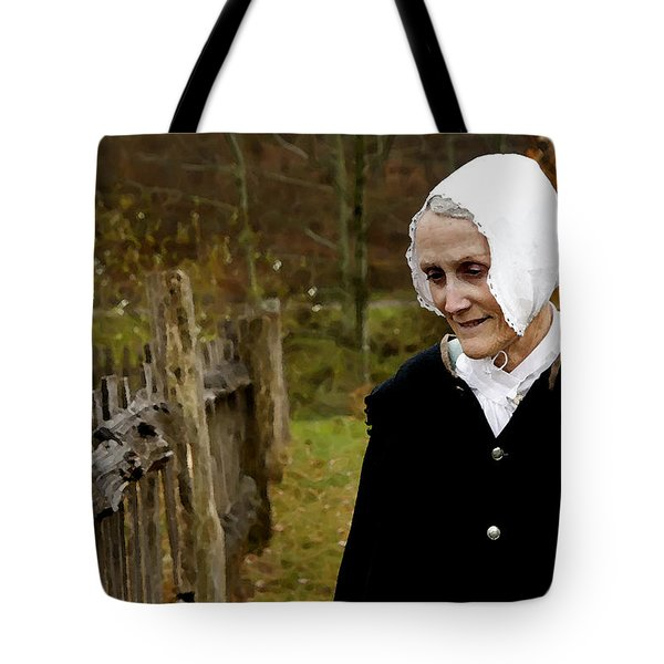 England On The Virginia Frontier Tote Bag