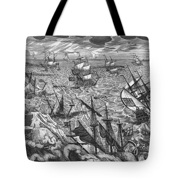 England S Great Storm Tote Bag by English School