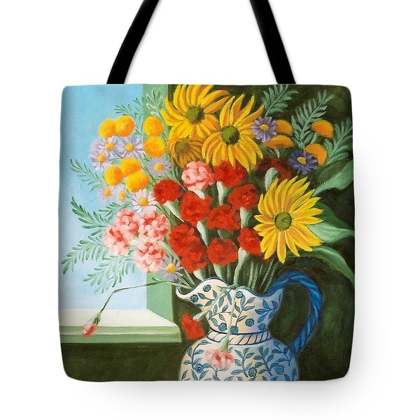 English Bouquet Tote Bag