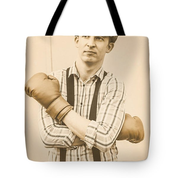 English Boxing And The Pride Of London Tote Bag
