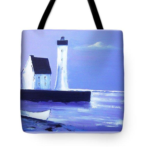 English Coast2 Tote Bag