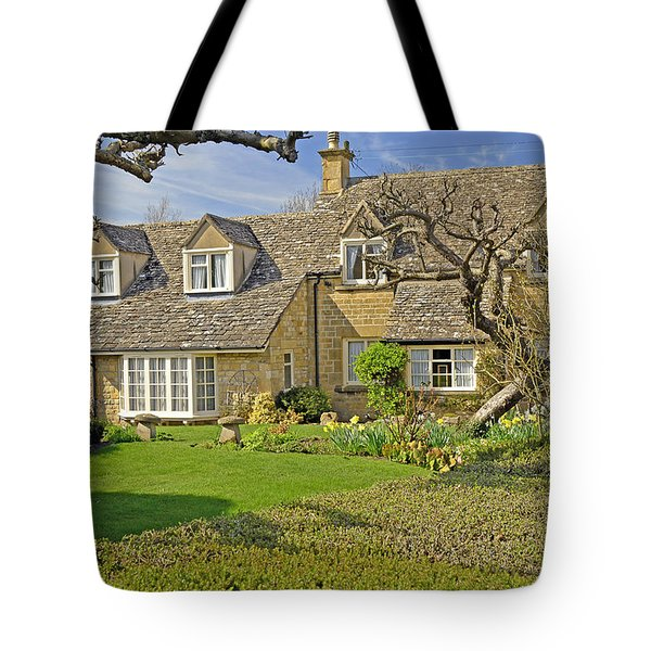English Cottage Tote Bag