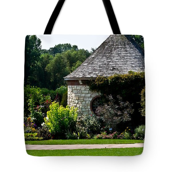 English Cottage Garden Tote Bag
