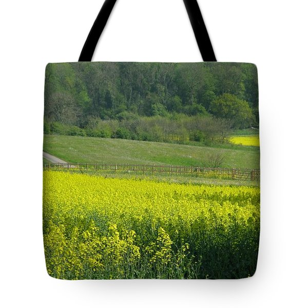 English Countryside Tote Bag by Ann Horn