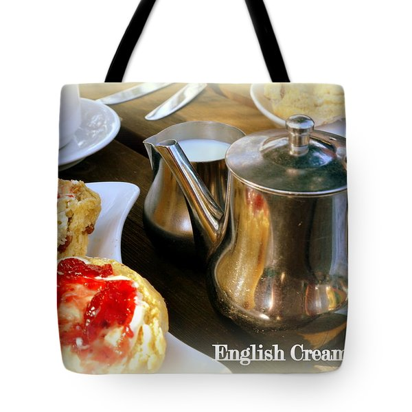 English Cream Tea Tote Bag