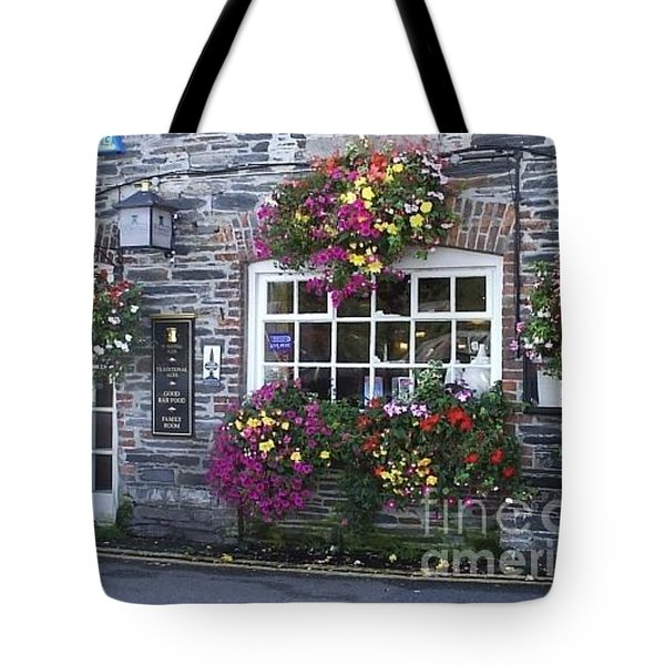 Tote Bag featuring the photograph English Shop by Bev Conover