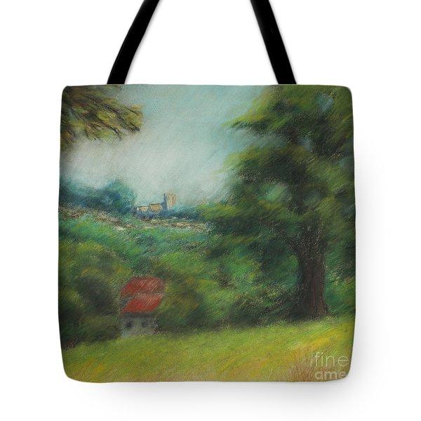 English Summer Landscape  Tote Bag by Ewa Hearfield