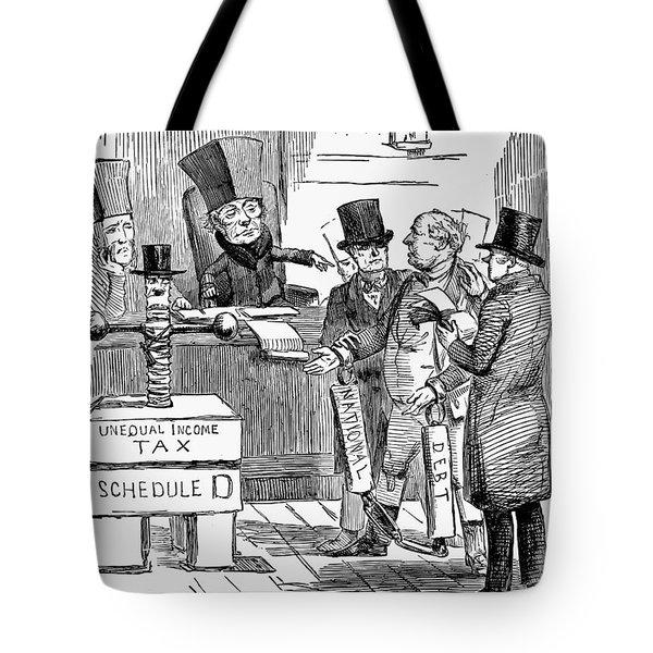 English Tax Cartoon, 1851 Tote Bag