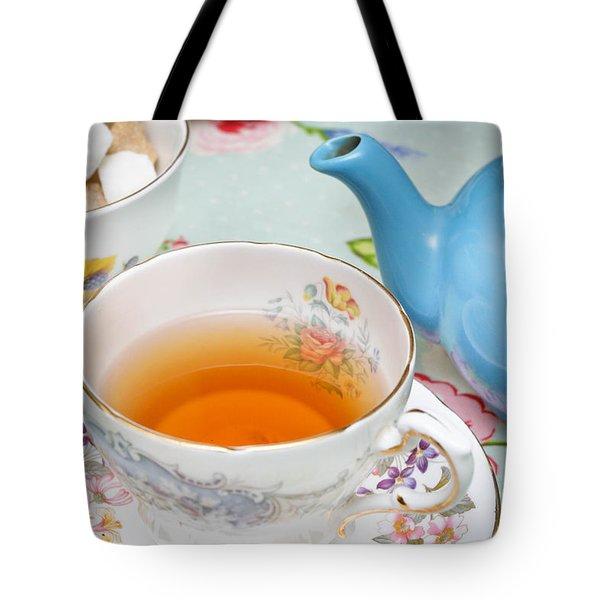 English Tea Tote Bag