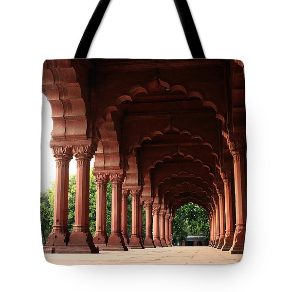 Engrailed Arches Red Fort - New Delhi Tote Bag