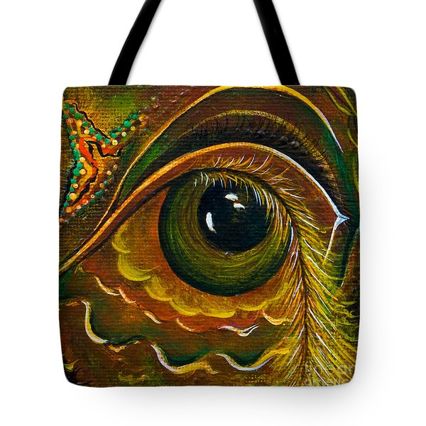 Enigma Spirit Eye Tote Bag by Deborha Kerr