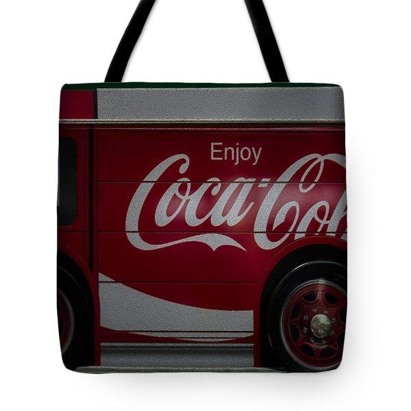 Enjoy Coca Cola Tote Bag by Susan Candelario