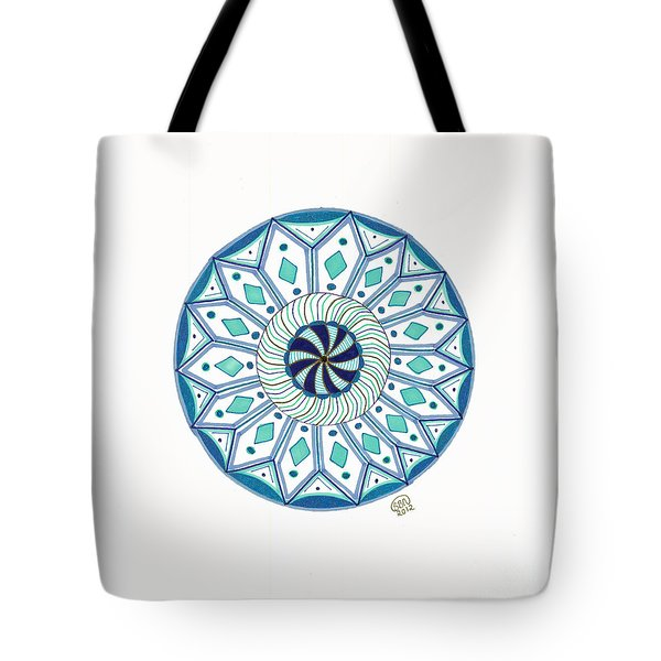 Enjoy The Breath Of Life Tote Bag by Signe  Beatrice