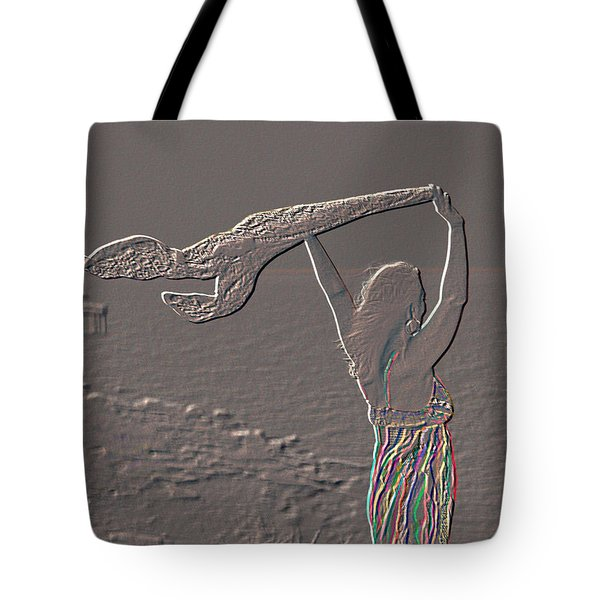 Enjoying The Ocean Breeze Tote Bag