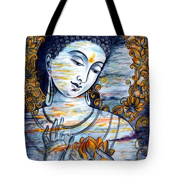 Enlightened  Tote Bag by Harsh Malik