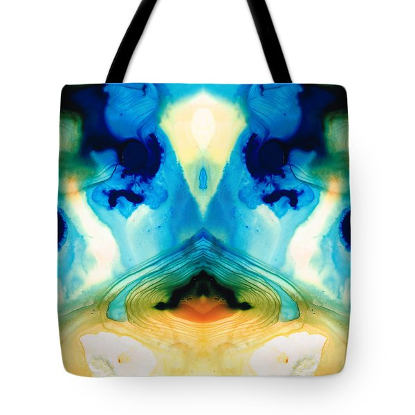 Enlightenment - Abstract Art By Sharon Cummings Tote Bag by Sharon Cummings