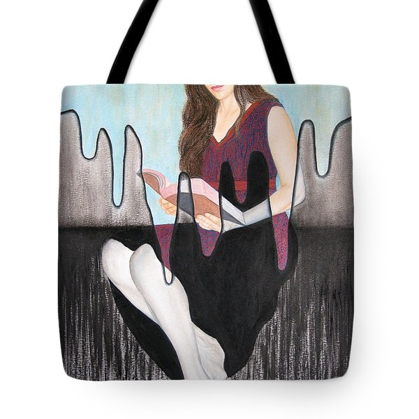 Enlightenment Tote Bag by Lynet McDonald