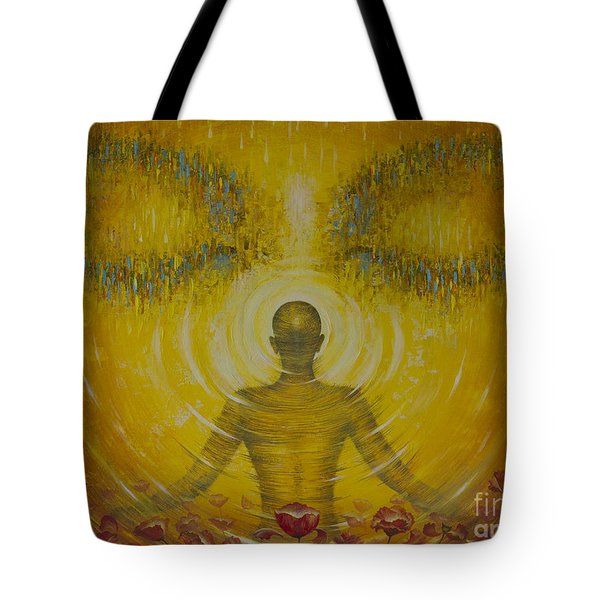 Enlightenment Tote Bag by Vrindavan Das