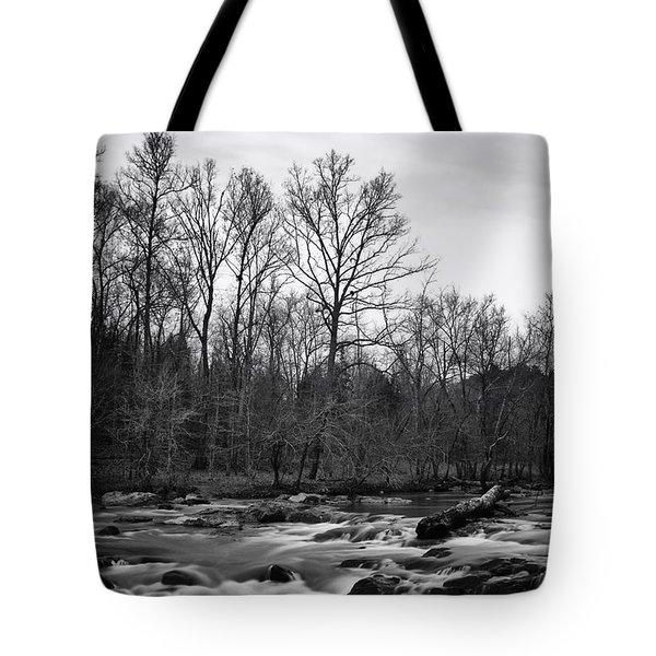 Eno River Portrait Tote Bag