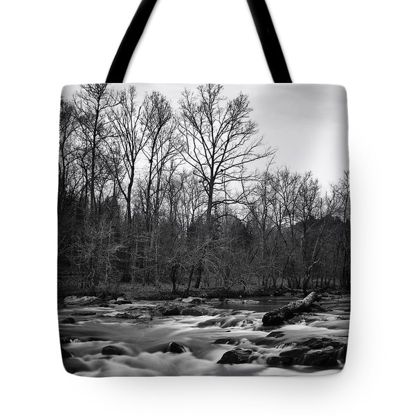 Tote Bag featuring the photograph Eno River Portrait by Ben Shields