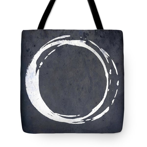 Enso No. 107 Blue Tote Bag