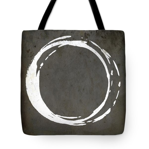 Enso No. 107 Gray Brown Tote Bag