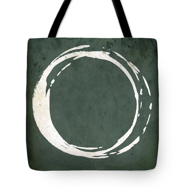 Enso No. 107 Green Tote Bag