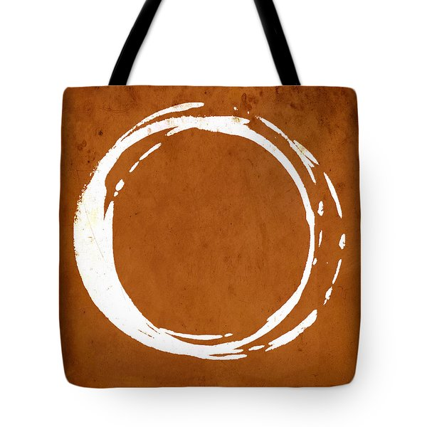 Enso No. 107 Orange Tote Bag