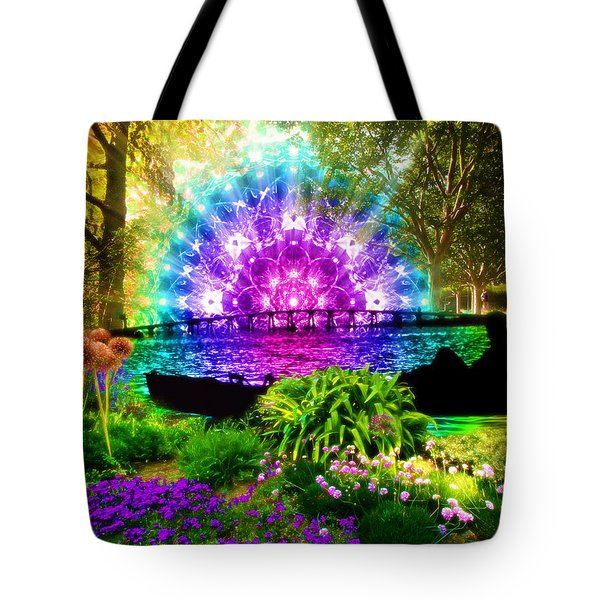 Ensueno Tote Bag by Jalai Lama