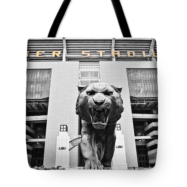 Enter At Your Own Risk Tote Bag by Scott Pellegrin