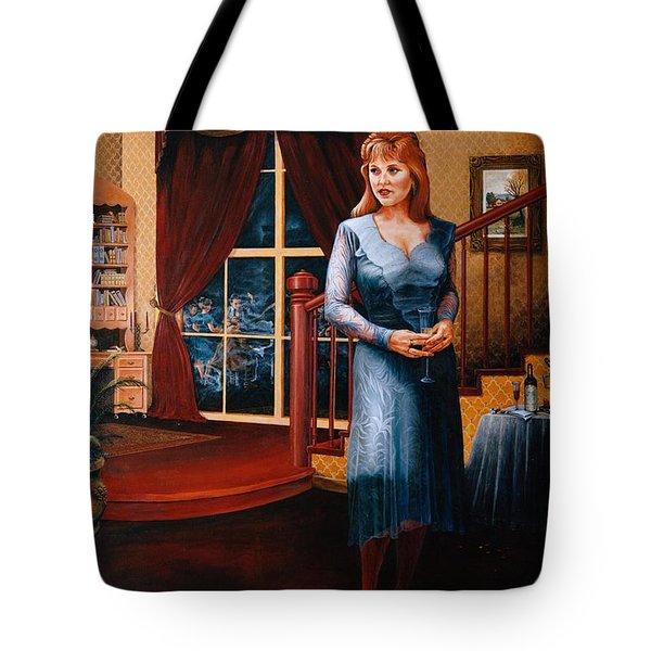 Delaina Tote Bag by Duane R Probus