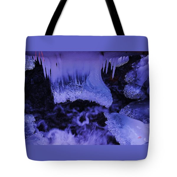 Tote Bag featuring the photograph Enter The Lair by Sean Sarsfield
