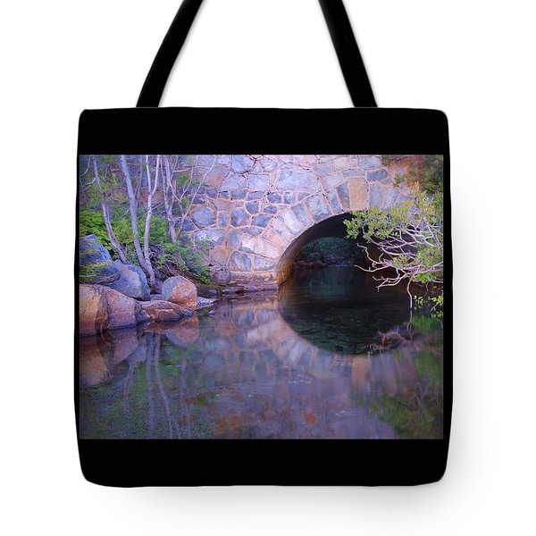 Tote Bag featuring the photograph Enter The Tunnel Of Love  by Sean Sarsfield