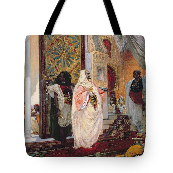 Entering The Harem Tote Bag by Georges Clairin