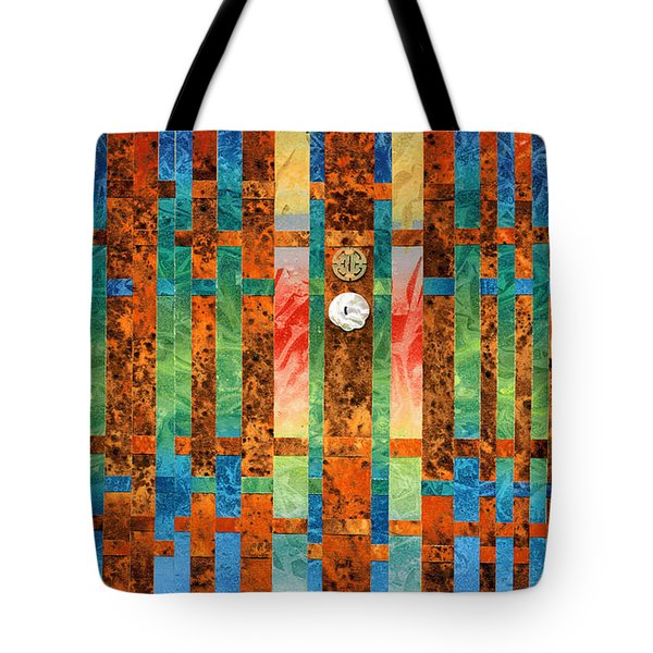 Entering The Temple Tote Bag